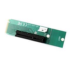 pci express pci-e 4x naaras ngff M.2 näppäintä m uros adapteri muunnin kortti virtajohto
