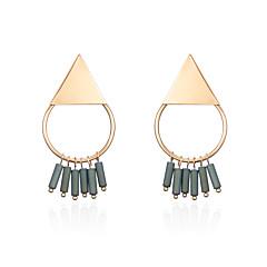 Dames Druppel oorbellen Sieraden Verstelbaar Hip-hop Hypoallergeen Met de hand gemaakt Gothic Luxe Sieraden Bohemia Style Punk-stijl Goud