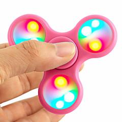 Fidget Spinners Przędzarka ręczna Bączek Zabawki Zabawki Nowość Tri-Spinner Metal EDCStres i niepokój Relief Focus Toy Zwalnia ADD, ADHD,