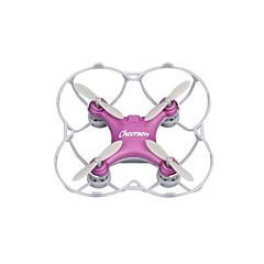 Drón Cheerson CX10SE Purple 4CH 6 Tengelyes LED Világítás 360 Fokos Forgás Lebeg RC Quadcopter Távirányító USB kábel Kézkönyv