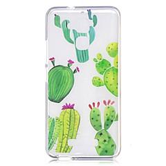 Til asus zenfone 3 max zc520tl case cover kaktus mønster bagcover soft tpu