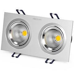 1szt. 6w wbudowana dioda LED punktowana światło żółte / ciepłe białe / białe ac220v rozmiar dziura 170mm kąt wiązki 25