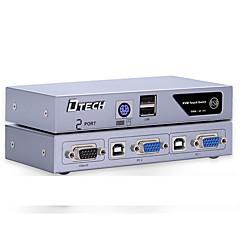 VGA USB 2.0 PS2 Kapcsoló, VGA USB 2.0 PS2 to VGA USB Type B Kapcsoló Mama - Mama 1080P