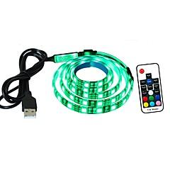 podświetlenie telewizora led light bar 1 metr 60 lamp 5050 led usb zasilacz rgb elastyczny taśma świetlna z 17 kluczem rf zdalny