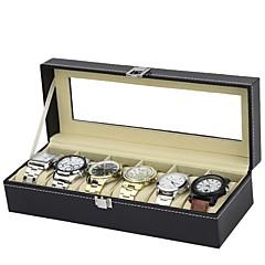 horloge vak mannen horloge doos horloge doos voor mannen horloge doos horloge display cadeau aangepaste horloge doos voor 6 horloges en
