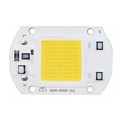DIY için yüksek güç led koçanı çip 30w 110v 220V girişi akıllı ic sel ışık çip led (1 adet)