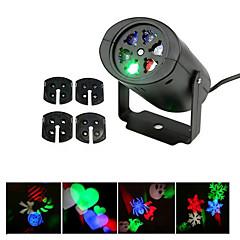 ywxlight® 3w eu us plug geen waterdicht sneeuwvlok kerst projector licht voor thuis tuin landschap verlichting patroon geleid projectie