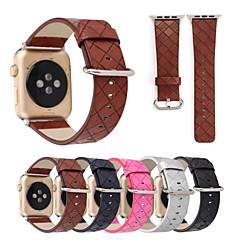 voor appelwatch iwatch plaid print gestikt horlogebandje