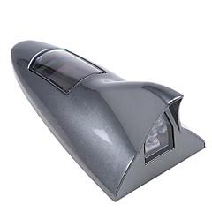 auto auto hain fin aurinko-powered led-salamavalot korkea positoned hälytysvalo turvallisuus varoitus takavalot