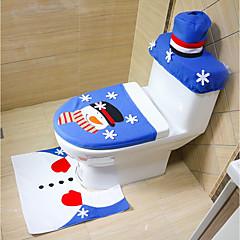 véletlenszerű stílus boldog karácsonyt és boldog új év legjobb karácsonyi ajándék&karácsonyi díszek fürdőszoba WC ülőke szőnyeg