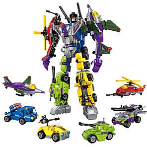 ENLIGHTEN Robot Bouwblokken 506 pcs Militair Krijger Machine transformable Creatief Cool Klassiek & Tijdloos Chic & Modern Speciaal Jongens Meisjes Speeltjes Geschenk