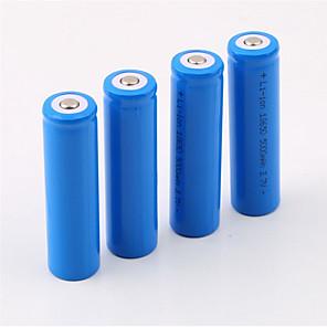 18650 batterij OplaadbareLithium-Ion Batterij 5000.0 mAh 4pcs Oplaadbaar voor Kamperen/wandelen/grotten verkennen
