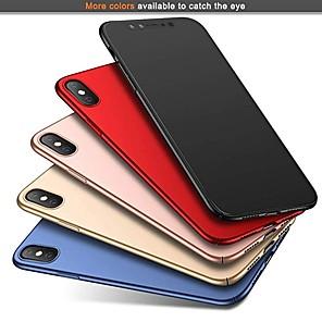 Custodia Per Apple iPhone XR / iPhone XS Max Ultra sottile / Effetto ghiaccio Per retro Tinta unita Resistente PC per iPhone XS / iPhone XR / iPhone XS Max