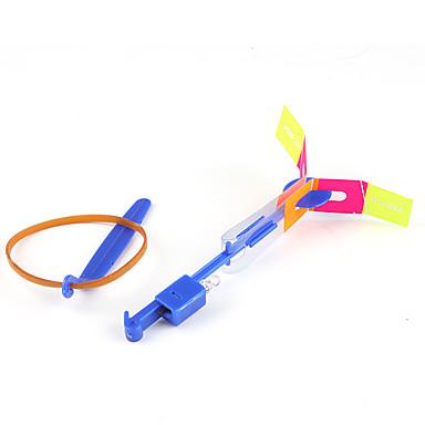 LED Flying Helicopter Umbrella Jet Rubber Dragonfly (2 colors LED / 1 Set)