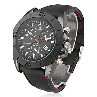 V6® Men's Watch Sports Stylish Dial Silicone Strap Cool Watch Unique Watch Fashion Watch