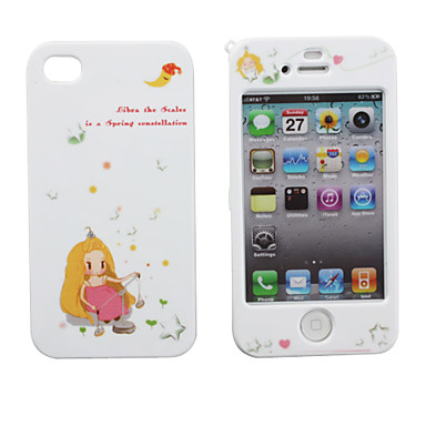 ... Back Full Body Case for iPhone 4 and 4S (Libra) 257630 2017 – $4.69