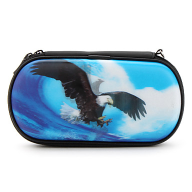Protective 3D Eagle Case Strap for PSP 1000, 2000 and 3000 (Blue)