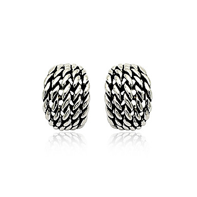 Fashion Ancient Silver Ear Nails