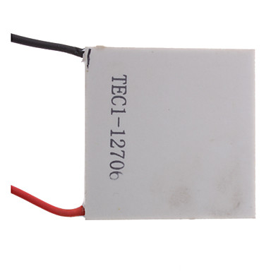 TEC1-12706 72W Semiconductor Thermoelectric Cooler Peltier (White)