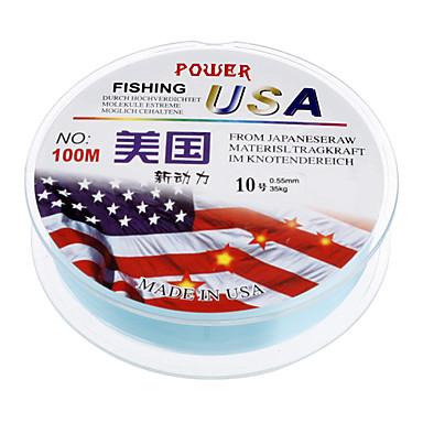 Light Blue Plastic High Quality/Durable Fishing Lines(100m,Random)