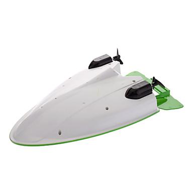 отличные C205 летающей чемпионата 4-канальный перезаряжаемые беспроводной пульт дистанционного управления дирижаблем лодки игрушки (зеленый, желтый)