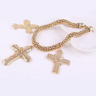 Large Diamond Cross Necklace