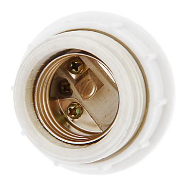 E27 Droplight Ceramic Lamp Holder (White)