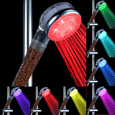 water flow power generation abs color changing led hand shower 989347 2017. Black Bedroom Furniture Sets. Home Design Ideas