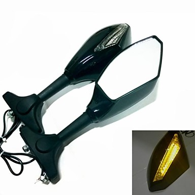integrierte led blinker spiegel f r motorrad suzuki katana. Black Bedroom Furniture Sets. Home Design Ideas