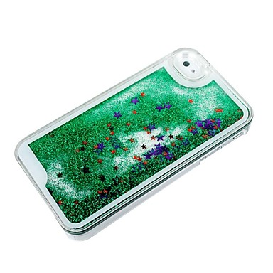 Novelty creative twinkling star and drift sand pc material for Creative iphone case ideas