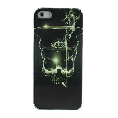 Smoking Skull Hard Case Cover for iPhone 4/4S