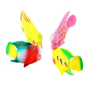 Plastic vissen decoratie