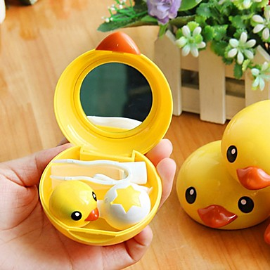 Yellow Duck Contact Lenses Box Random Color