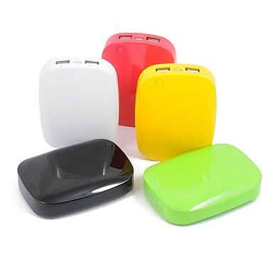 6400mah usb chargeur portatif de puissance de banque de batterie externe pour le t l phone. Black Bedroom Furniture Sets. Home Design Ideas