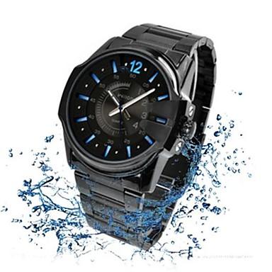 Wilon 938g stainless steel quartz wrist watch for men