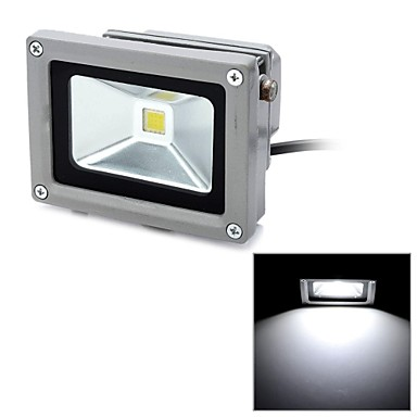 LUO 10 W 1 Integrate LED 1000 LM Cool White Decorative Flood Lights AC 85 265