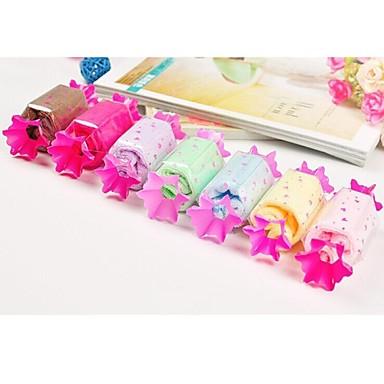 Birthday Gift Candy Shape Fiber Creative Towel (Random Color)  #02076992