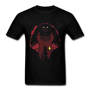 LOL Annie Black Cotton Cosplay T-Shirt