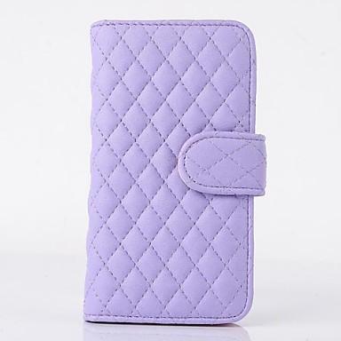 Алмазный Проверьте Кабо кожи Кожа PU Полный чехол для тела с подставкой для iPhone 6 (разных цветов)