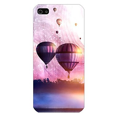 Watercolor Balloon Pattern Back Case for iPhone5/5S