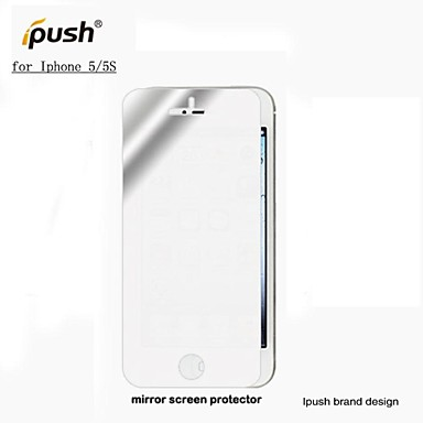 Grande transparence protecteur d 39 cran miroir lcd pour for Application miroir iphone