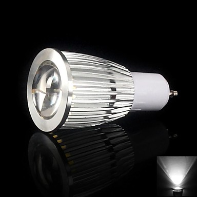 9W GU10 700-750LM 6000-6500K Cool White Color Led Cob Spot Light Lamp Bulb(85-265V)
