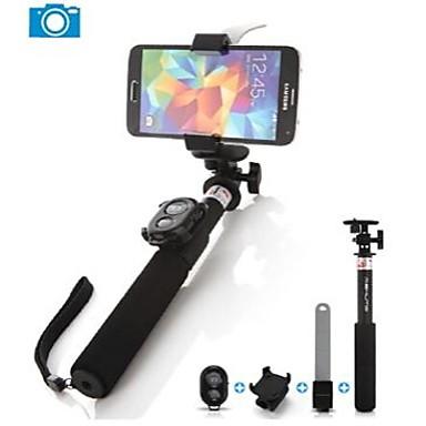 ashutb uitschuifbare bluetooth monopod selfie stick voor iphone samsung en gopro camera 2668188. Black Bedroom Furniture Sets. Home Design Ideas