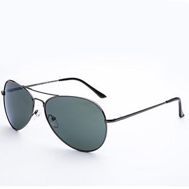 Anti-Reflective Aviator Metall Retro Sonnenbrille