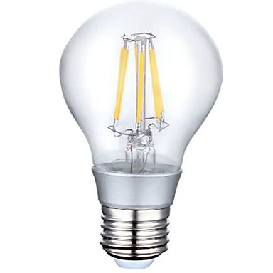 Lampade LED a incandescenza 6 LED ad alta intesità YOKON A E26/E27 6 W Decorativo 660 LM Bianco ...