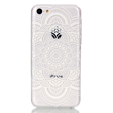 Hollow Flower Pattern Ultrathin Hard Back Cover Case iPhone 5C