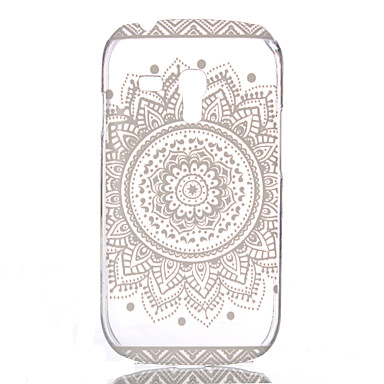 Hollow Flower Pattern PC Hard Case for Samsung Galaxy S3 Mini  I8190