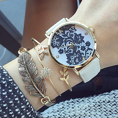 Vintage Lace Watch Women Watches Leather Birthday Gift Special Boyfriend Style Cool Unique