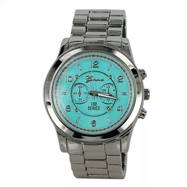 s fashion quartz stainless steel band brand