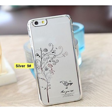 Fashion Ultra-thin Plating Diamond Surface Mobile Phone Protection Shell for Samsung Galaxy S6